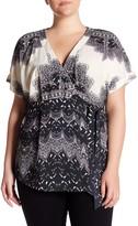Tart Ann Print Blouse (Plus Size)
