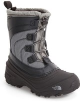 The North Face 'Alpenglow IV' Bungee Lace Waterproof Boot (Toddler, Little Kid & Big Kid)