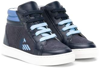 Emporio Armani Kids high-top sneakers