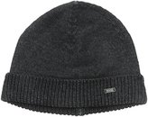 HUGO BOSS Men's Ean Knitted Hat with Geometric Structure