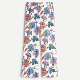 J. Crew Kickout crop pant in paisley floral