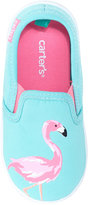 Carter's Tween Embroidered Slip-On Sneakers, Toddler Girls (4.5-10.5) & Little Girls (11-3)