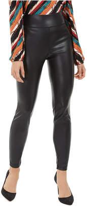 INC International Concepts Inc Faux-Leather Skinny Pants