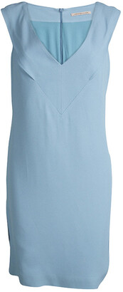 Christopher Kane Powder Blue Sleeveless Shift Dress M