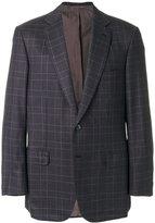Brioni plaid blazer - men - Cupro/Wool - 52