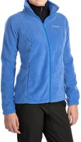 Columbia Benton Springs Jacket - Full Zip (For Plus Size Women)