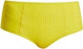 Diane von Furstenberg Rosin Dot-print high-rise bikini briefs