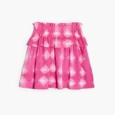 J.Crew Girls' tie-dye pull-on ruffle skirt