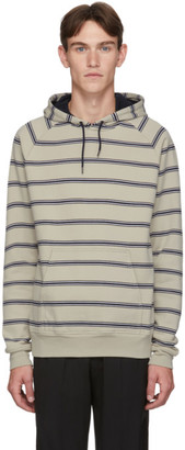 Paul Smith Off-White Stripe Regular-Fit Hoodie