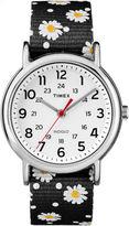 Timex Weekender Womens Black Strap Watch-Tw2r241009j