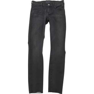 Koral Grey Cotton Jeans for Women