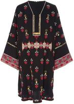 Ulla Johnson Aisha Afghani Button Embroidery Tunic