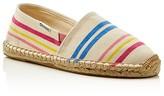 Soludos Girls' Original Dali Candy Stripes Espadrille Flats - Toddler, Little Kid, Big Kid