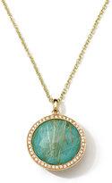 Ippolita 18k Rock Candy® Lollipop® Diamond, Quartz & Turquoise Pendant Necklace