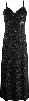 Kenzo Iredescent shimmer dress
