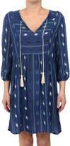 Glam Signature Western Tassel Peasant Dress
