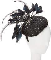 Giovannio Couture Black Fascinator