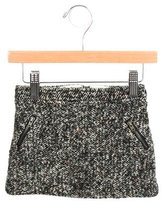 Bonpoint Girls' Tweed Wool Blend Skirt