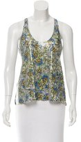 Clover Canyon Sequin Printed Top w/ Tags