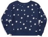 Ralph Lauren Girls' French Terry Star Print Sweatshirt - Big Kid