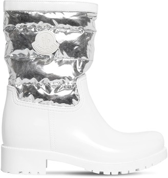 Moncler 40mm Rubber & Nylon Boots