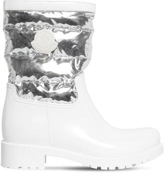 Moncler 40mm Rubber & Nylon Boots