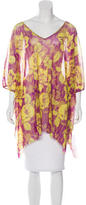 Jean Paul Gaultier Floral Print Oversize Tunic w/ Tags