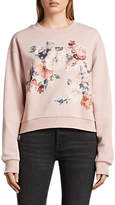 AllSaints Kyla Sweater, Blush Pink