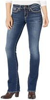 Silver Jeans Co. Suki Mid-Rise Curvy Fit Slim Bootcut Jeans L93616SSX394 (Indigo) Women's Jeans