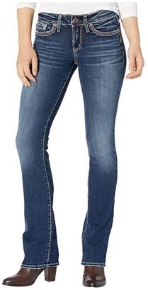 Silver Jeans Co. Suki Mid-Rise Curvy Fit Slim Bootcut Jeans L93616SSX394