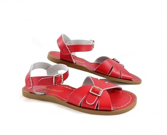Salt Water Salt-Water - Salt-Water Sandals (Youth) Classic Red - EU 33/UK 1 - Red/Leather