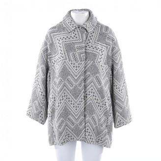 Essentiel Antwerp Grey Cotton Jacket for Women