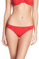 Tommy Bahama Women's Side Shirred Hipster Bikini Bottoms
