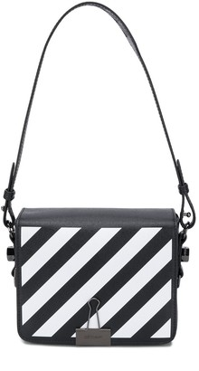 Off-White Diagonal Binder Clip shoulder bag