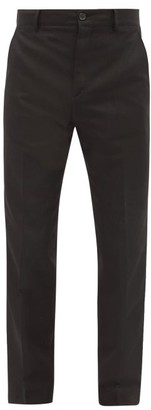 Acne Studios Jellica Slim-leg Twill Suit Trousers - Black
