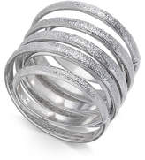 Thalia Sodi Silver-Tone Spiral Ring, Created for Macy's