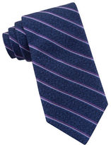 Michael Kors Narrow Striped Silk Tie