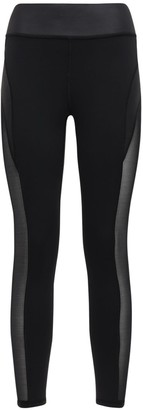Michi Raven Leggings W/mesh Inserts