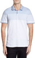 Victorinox Men's Novelty Stripe Polo