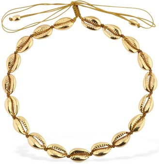 Tohum Design Medium Faux Puka Shell Necklace