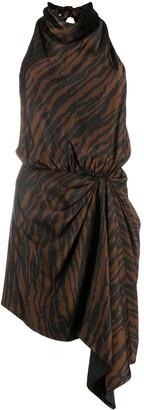 ATTICO Zebra Print Dress