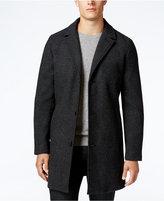 Perry Ellis Men's Twill Overcoat