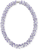 Fallon Monarch Crystal Choker Necklace