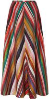 Rosie Assoulin Melted Rainbows A Line Skirt