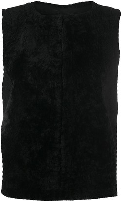 Simonetta Ravizza Zipped Gilet Jacket