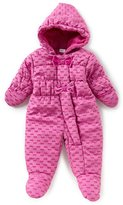 Starting Out Baby Girls 3-9 Months Bow-Print Footed Jacket