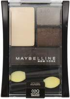 Maybelline New York Expert Wear Eyeshadow Quads, Stylish Smokes, 02q Natural Smokes, 0.17 Ounce
