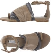 Brunello Cucinelli Thong sandals