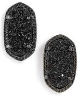 Kendra Scott Women's Ellie Oval Stone Stud Earrings