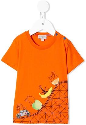 Paul Smith roller coaster T-shirt